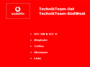 Vodafone TechnikTeam (private Seite)