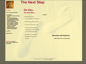 The Next Step - Kathrin Harms