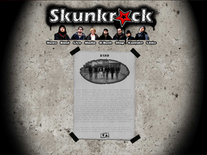 "Band ""Skunkrock"""